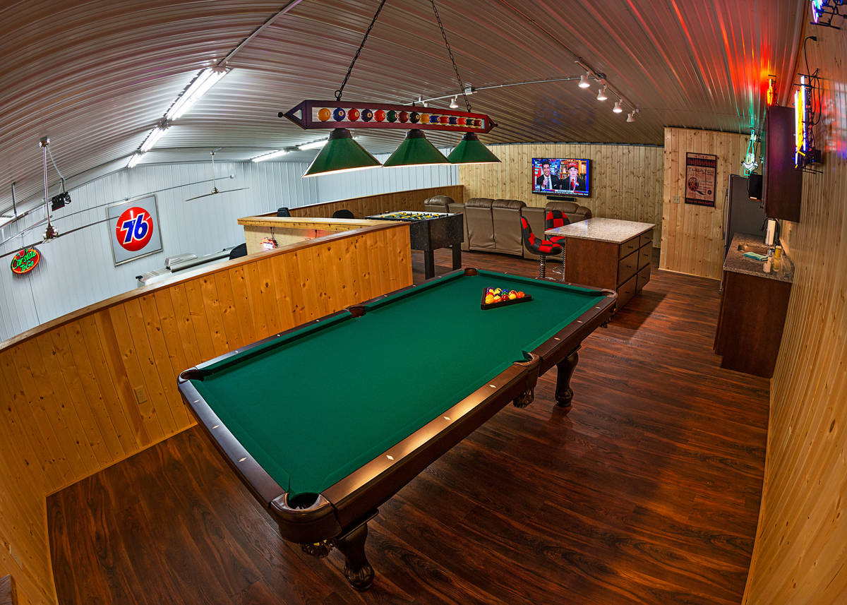Dan Anderson The 2,500-square-foot garage unit Joe Bazey of Garage Solution Condominiums built ...