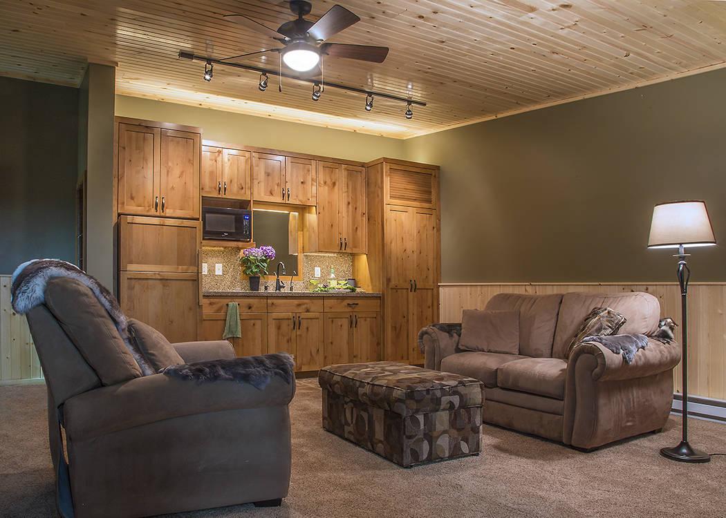 Joe Bazey Joe Bazey of Garage Solution Condominiums built a 1,440-square-foot garage unit for B ...