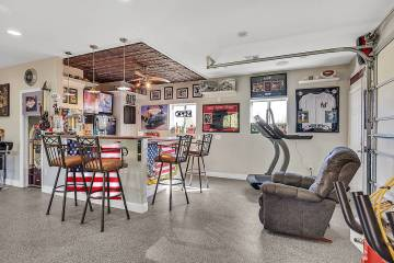 Darin Marques Group Allen Foster created his own showcase garage with custom paint, epoxy floo ...