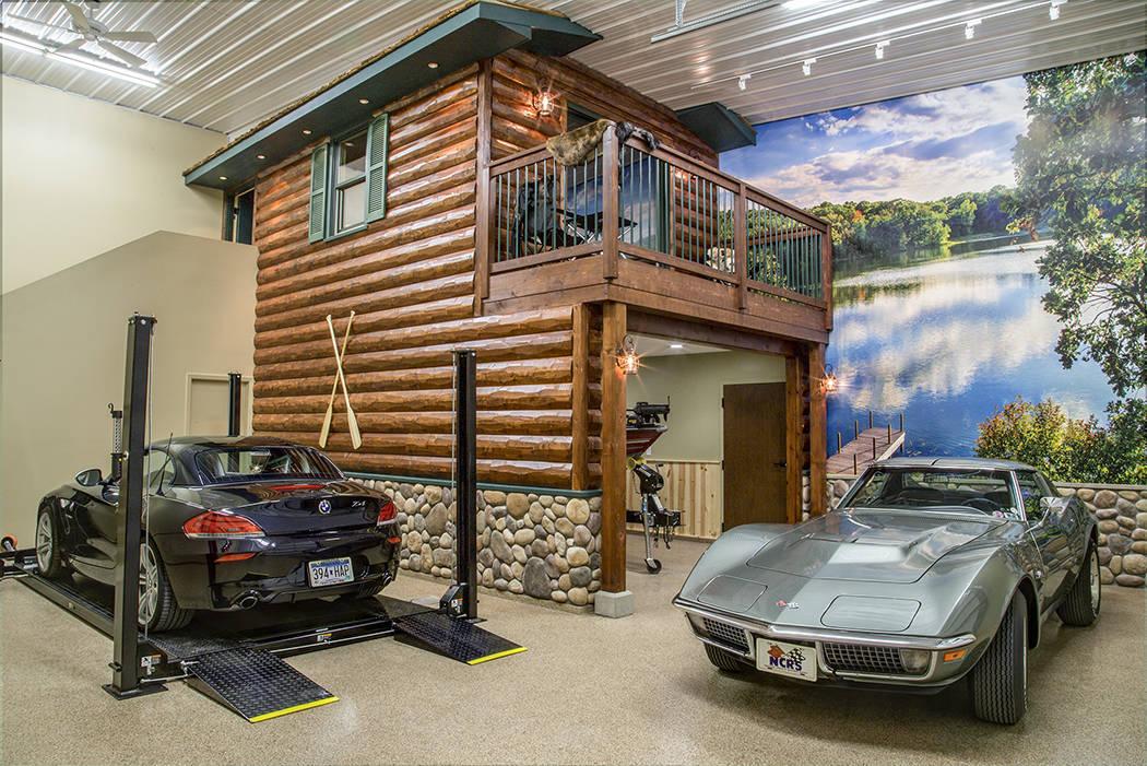 Joe Bazey This unit at Garage Solution Condominiums in Minnesota was designed by Dennis Fellin ...
