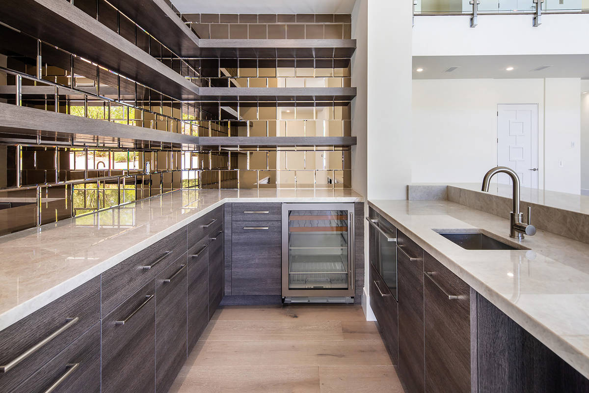 The kitchen has a large prep area. (Ivan Sher Group)