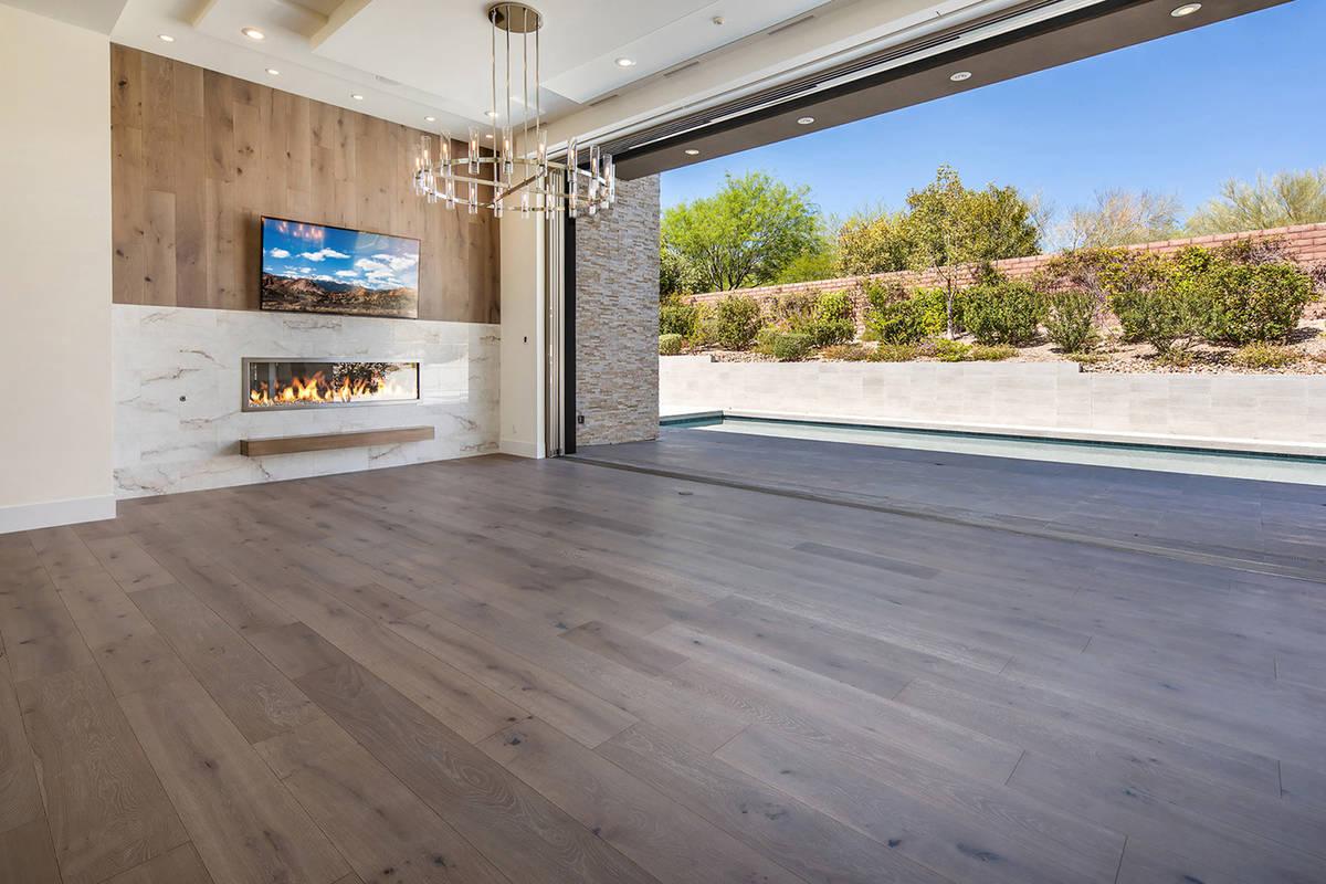 The home has indoor/outdoor living features. (Ivan Sher Group)