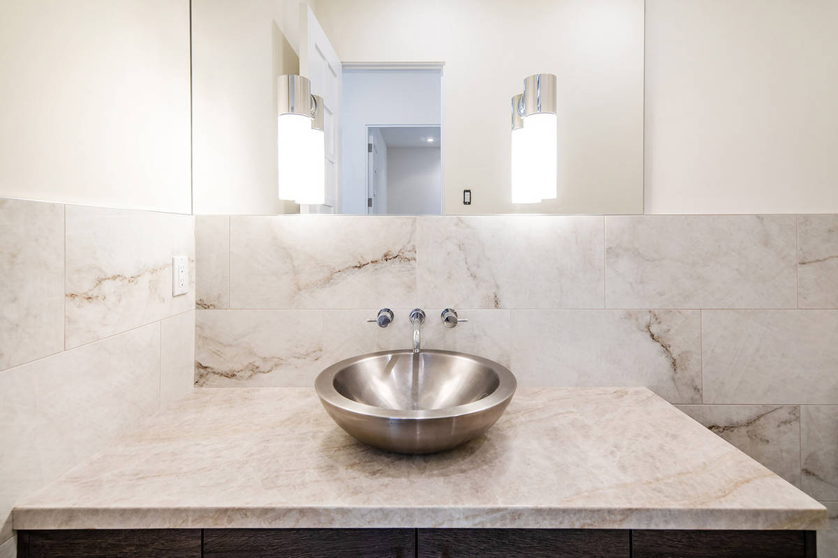 One of 6½ bathrooms. (Ivan Sher Group)