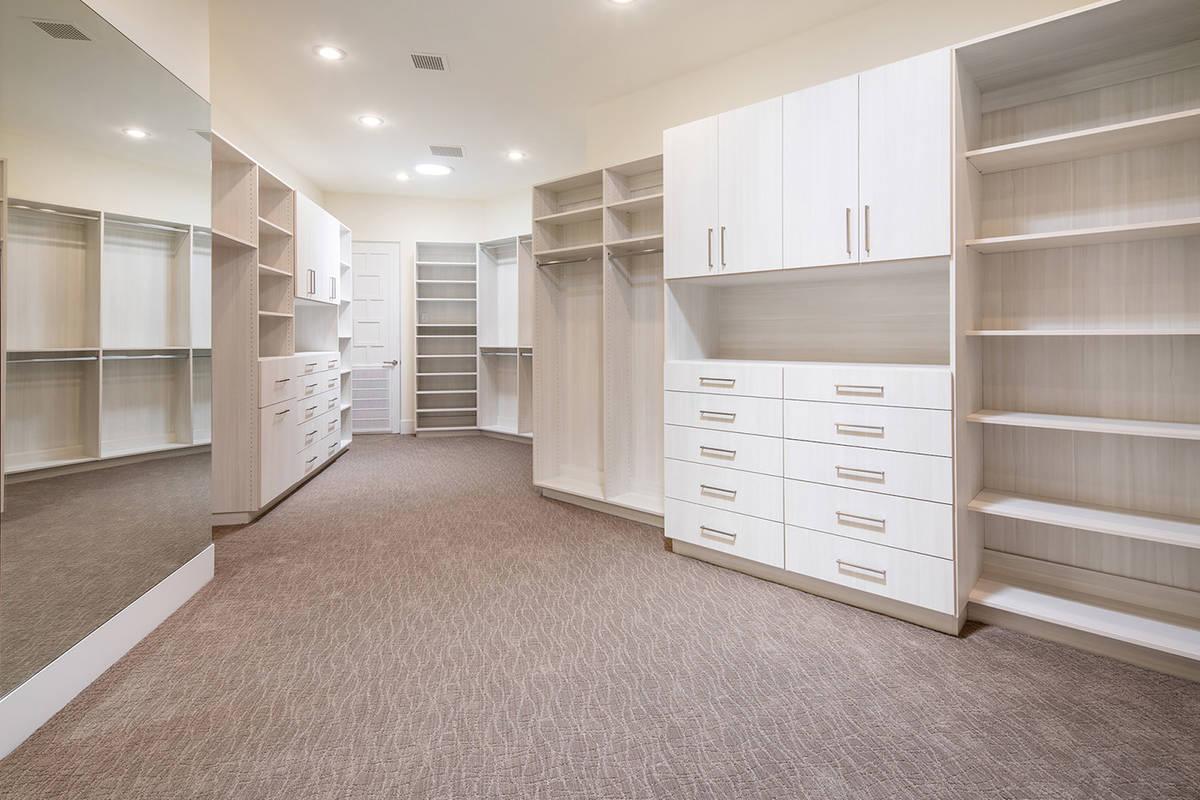 The master closet. (Ivan Sher Group)