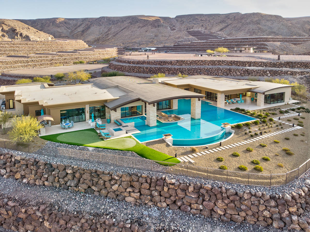 This 12,100-square-foot home in Ascaya, a luxury Henderson master-planned community, sold for $ ...