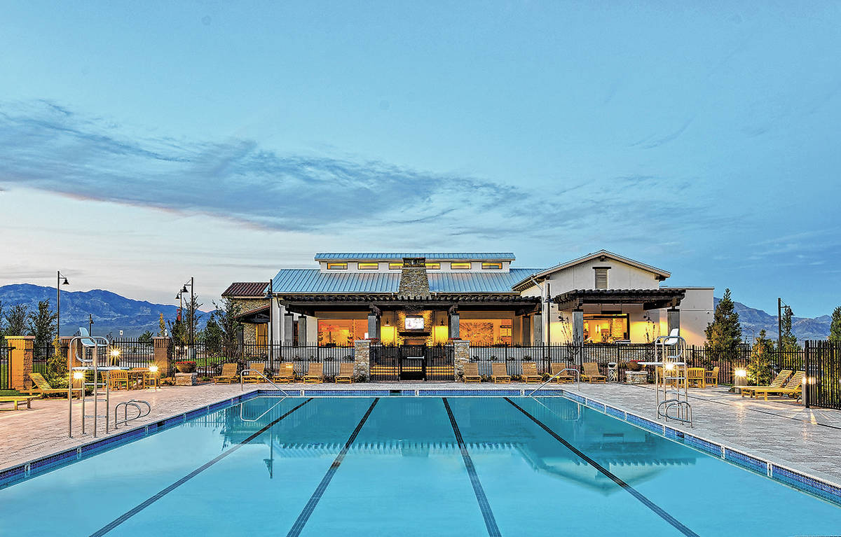 Skye Canyon in northwest Las Vegas was ranked No. 23. Skye Fitness features a workout facility ...