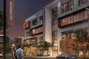 UnCommons, a $400 million, 40-acre mixed-use development is expected to open early 2022. (UnCom ...