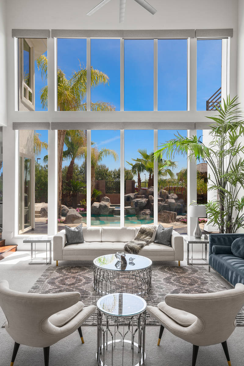 The owners of 2000 Bogart Court, which has been listed for $2.125 million, designed a resort-st ...
