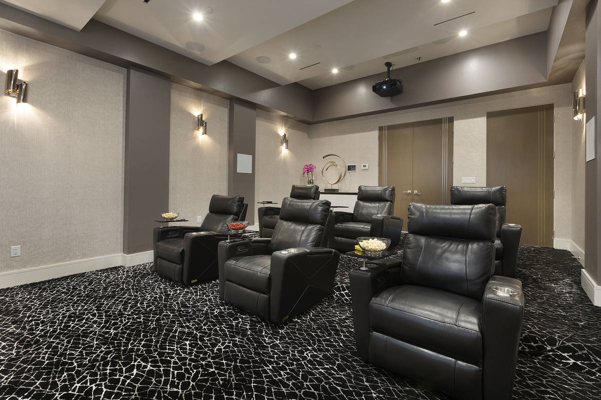 The home theater. (Kristen Routh-Silberman)