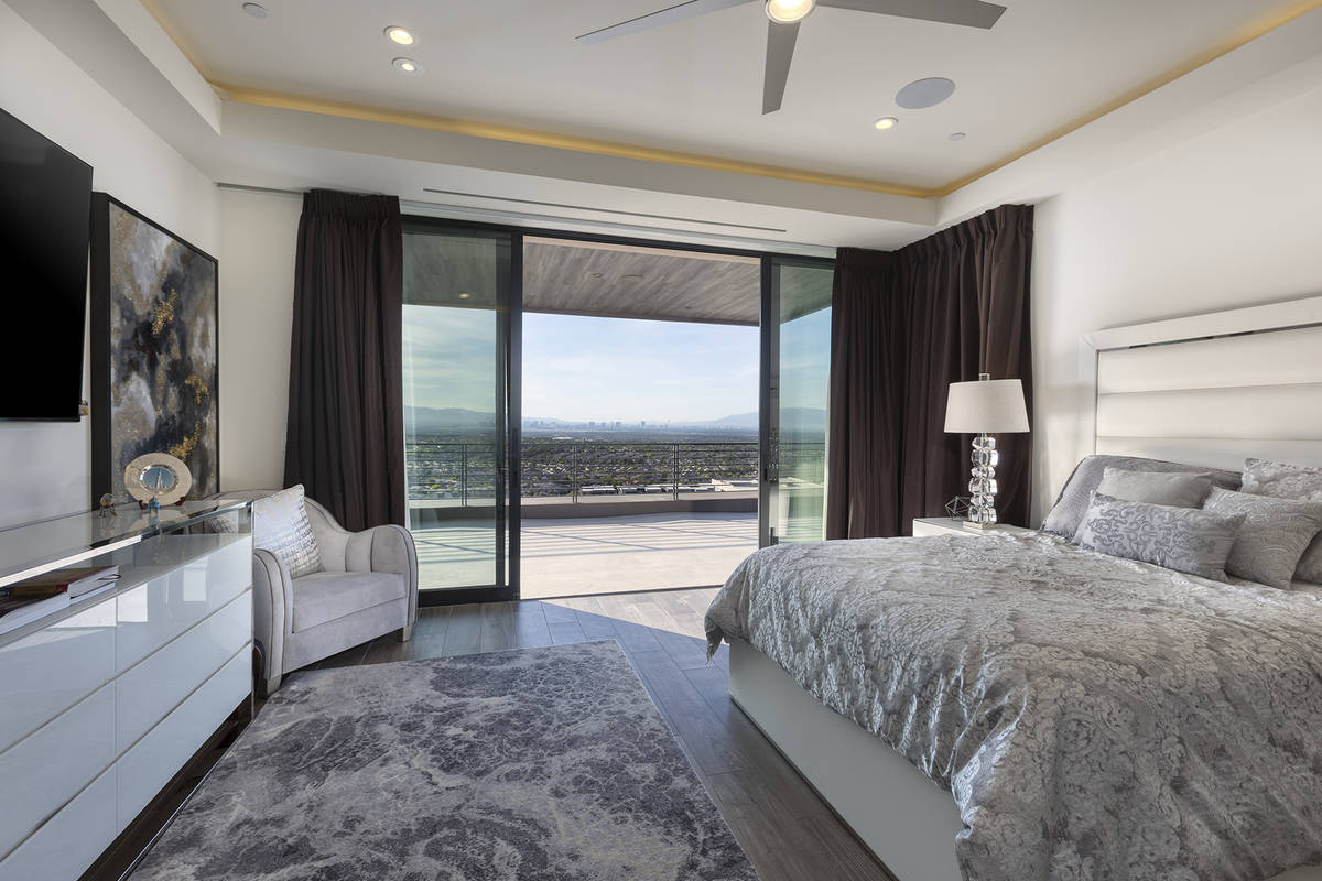 The home has seven bedrooms. (Kristen Routh-Silberman)