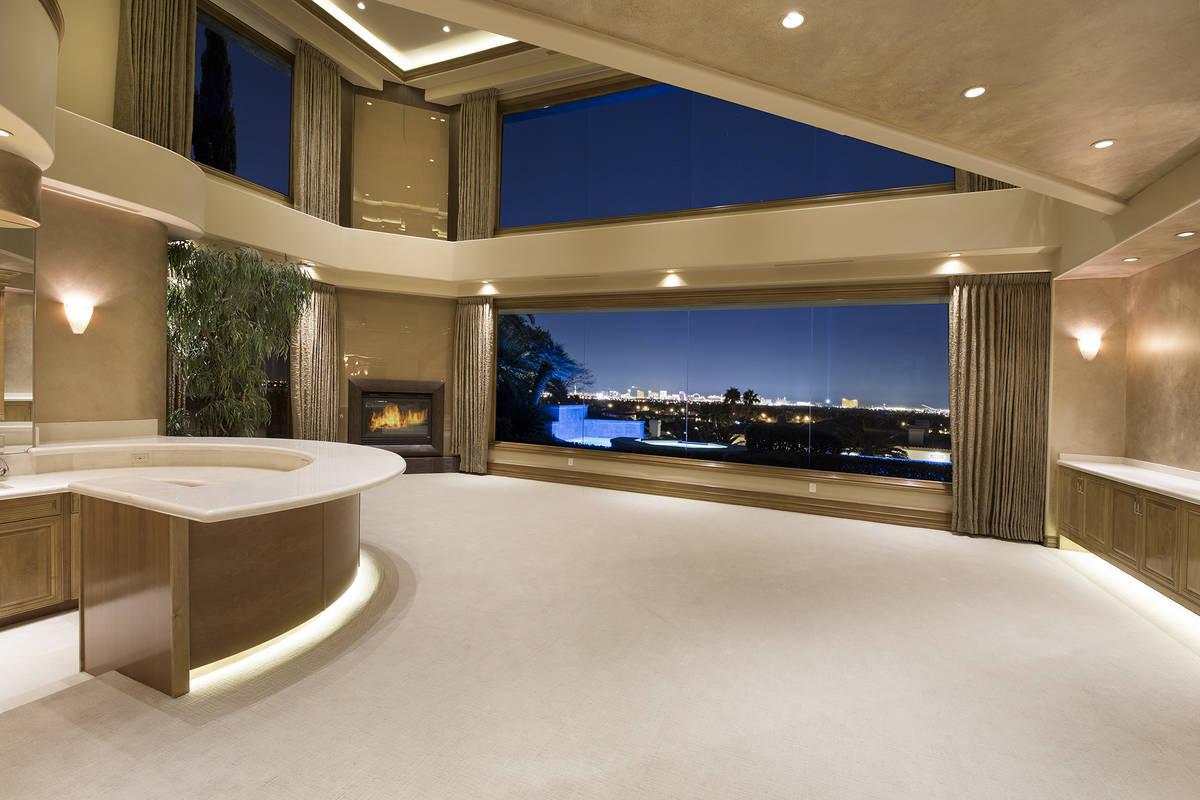 The living room. (Las Vegas International Realty)