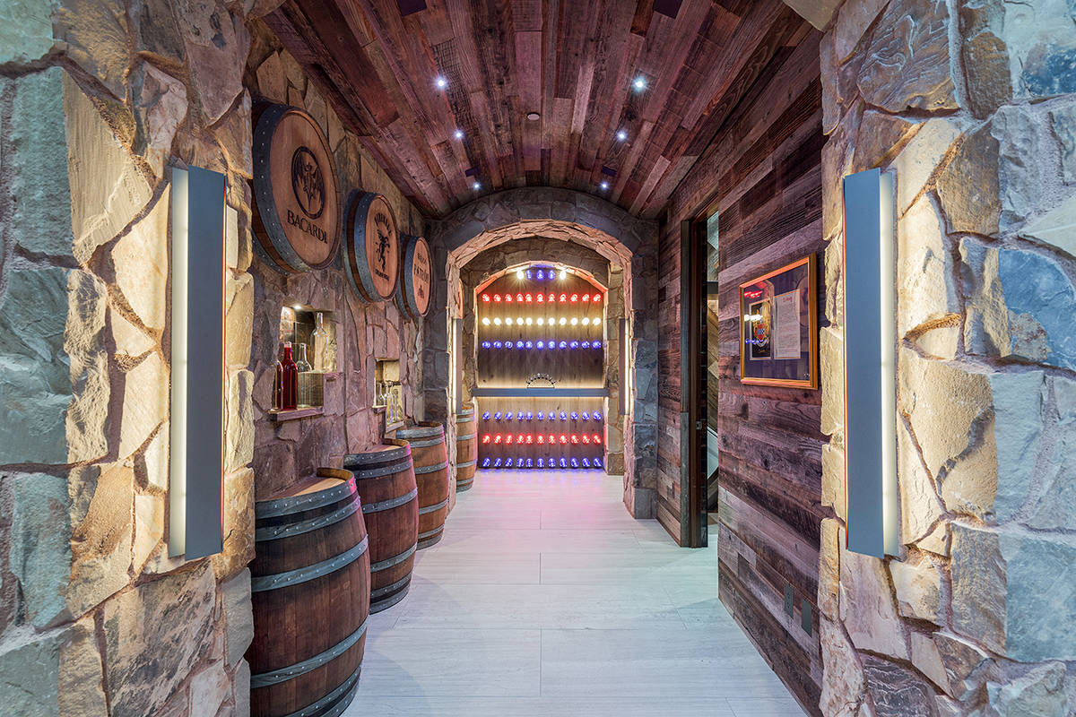 The wine cellar. (The Ivan Sher Group)