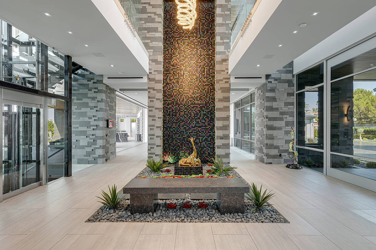 The entrance. (The Ivan Sher Group)