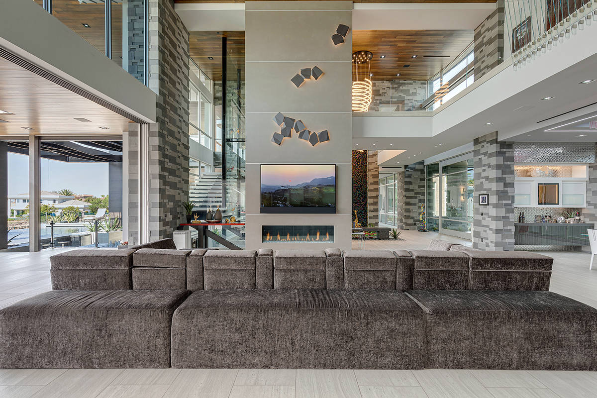 The living room. (The Ivan Sher Group)