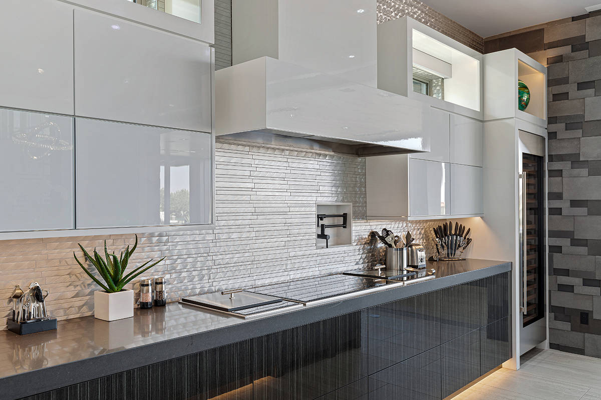 The home has two kitchens. (The Ivan Sher Group)