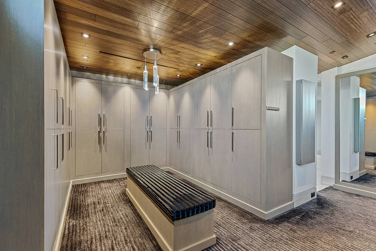 A dressing area. (The Ivan Sher Group)