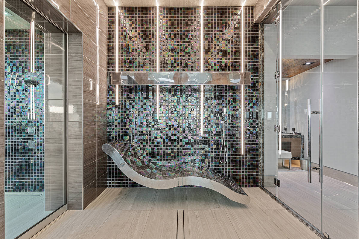 The master shower. (The Ivan Sher Group)