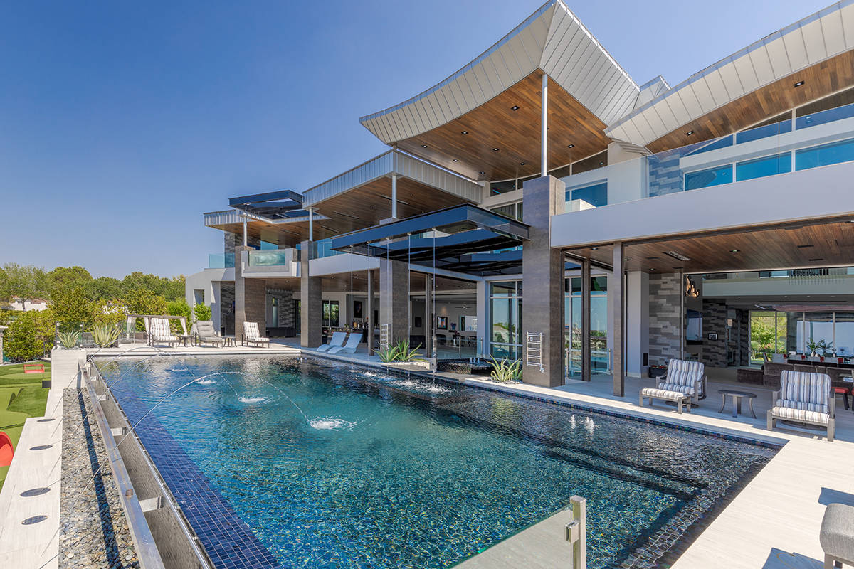 The pool. (The Ivan Sher Group)