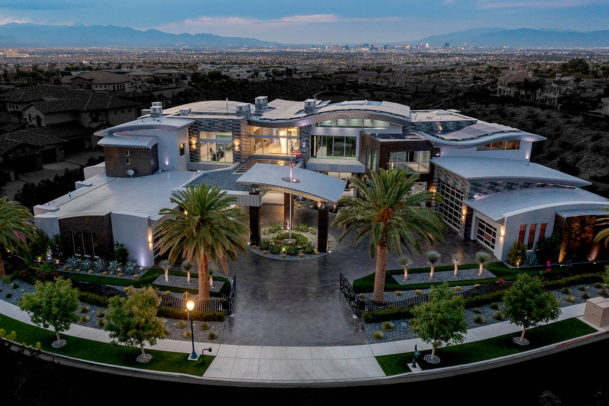 The state-of-the-art mansion listed for $32.5 million. (The Ivan Sher Group)