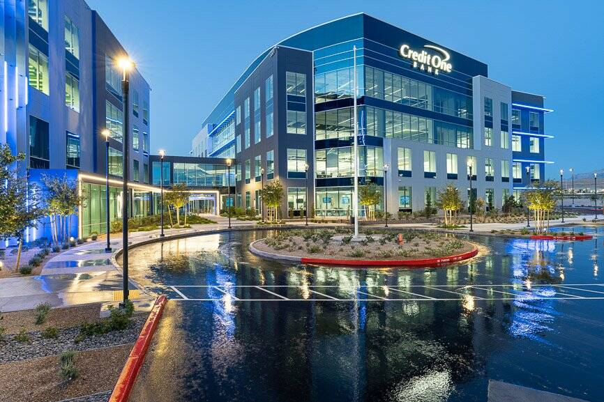 Grand Canyon Development Partners has completed Phase II of the expansion of Credit One Bank he ...