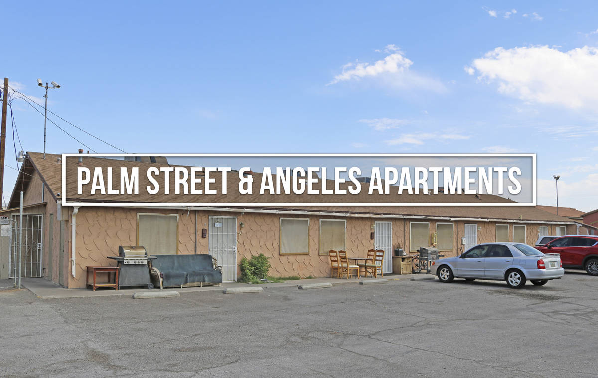 Palm Street and Angeles Apartments sold for for $1,650,000 ($68,750/unit). (Northcap Commercial)