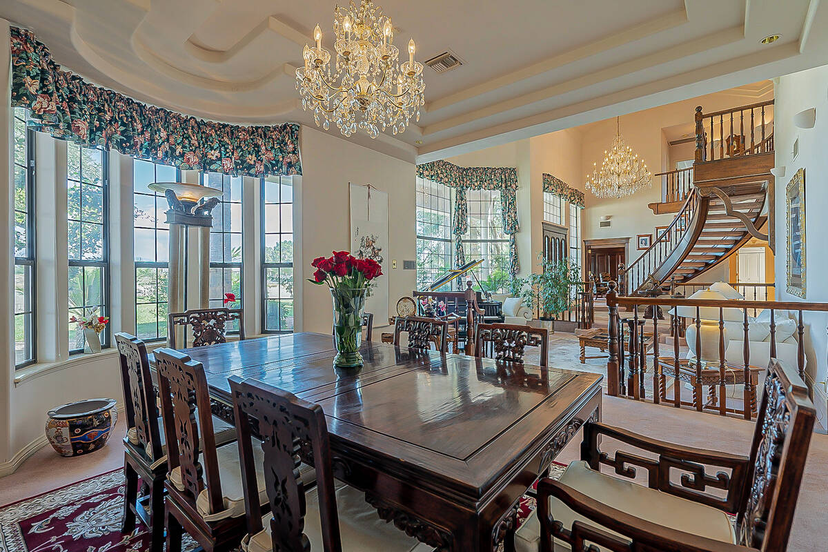 The main house features a formal dining room. (BHHS)
