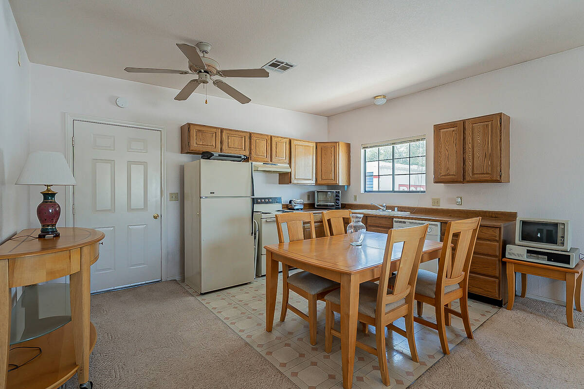 The property has a 1,000-square-foot guesthouse. (BHHS)