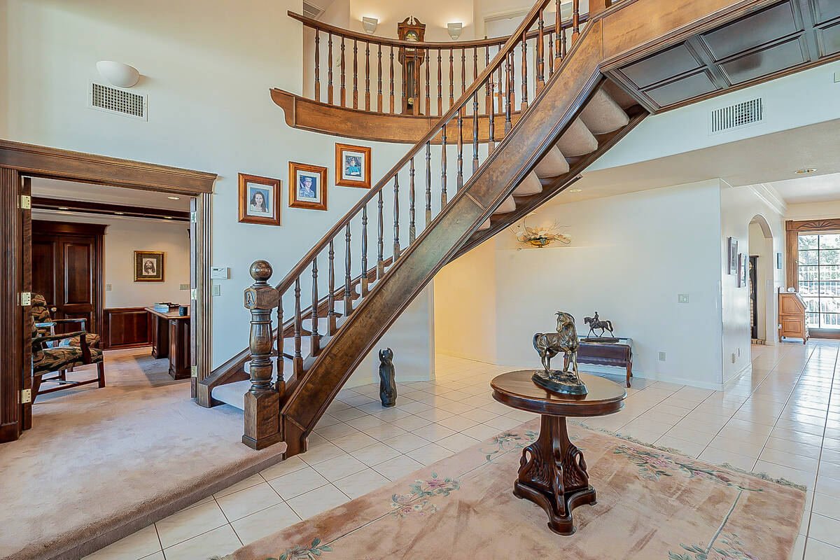 The 2-acre equestrian property has listed for $1.895 million. (BHHS)