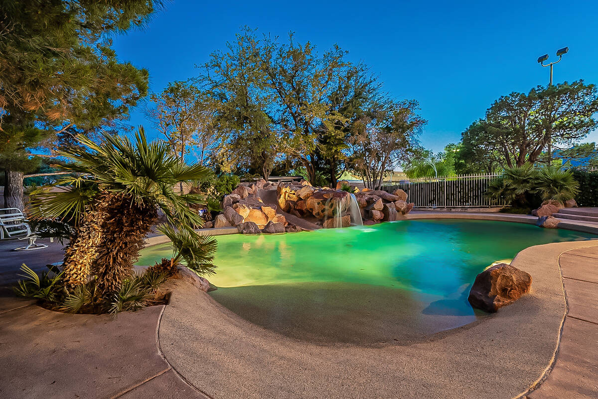 This 2-acre estate in the northwest valley has a resort-style backyard. (BHHS)