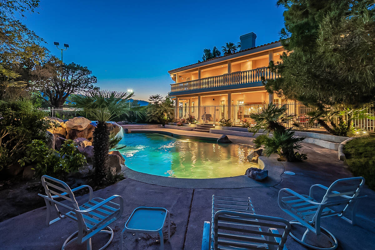 The 2-acre equestrian property in the northwest valley has listed for $1.895 million. (BHHS)