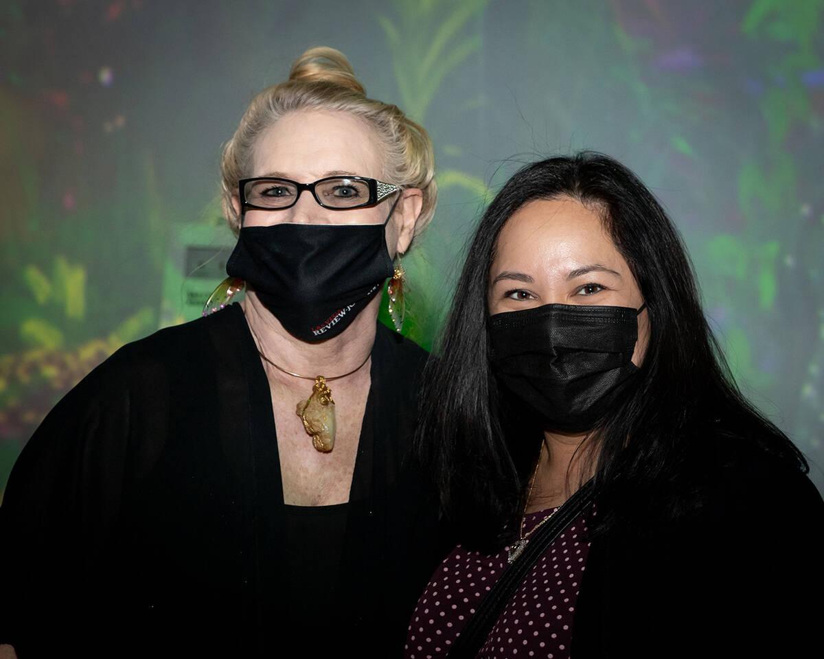 Claire DeJesus and Christy Cuthbert, Las Vegas Review-Journal. (Tonya Harvey/Las Vegas Business ...