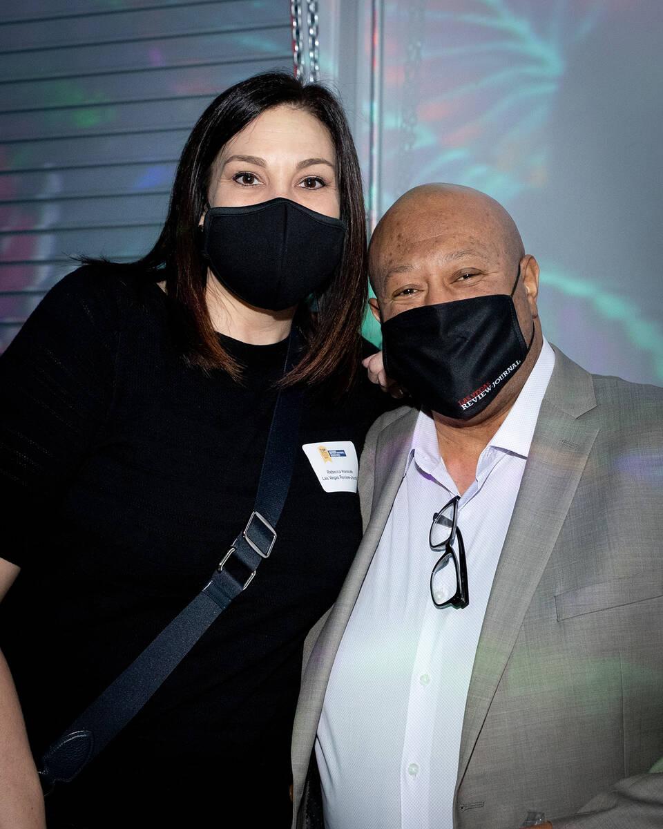 Rebecca Horacek and Damone Colston, Las Vegas Review-Journal. (Tonya Harvey/Las Vegas Business ...