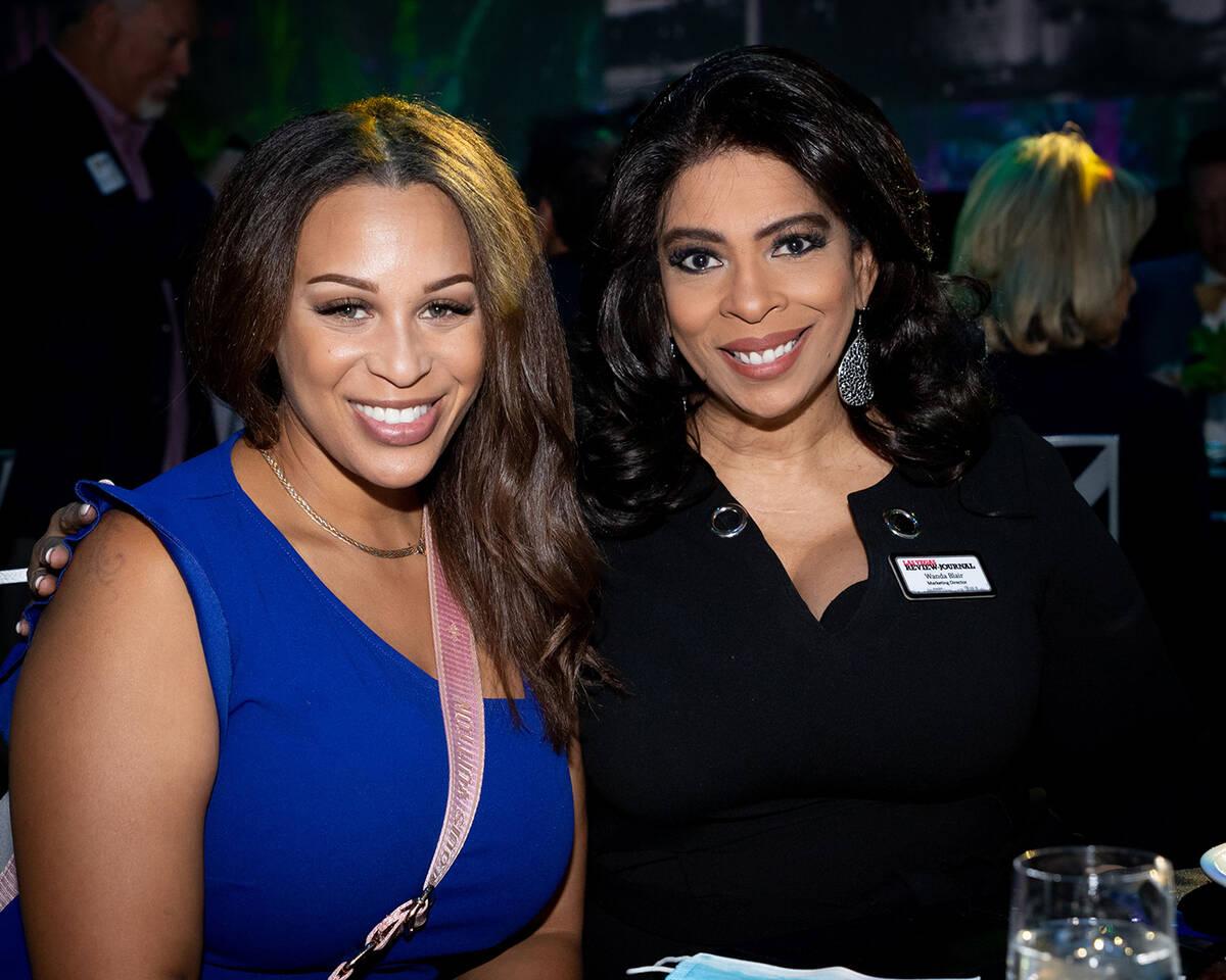 Renee Summerour and Wanda English Blair, Las Vegas Review-Journal. (Tonya Harvey/Las Vegas Busi ...