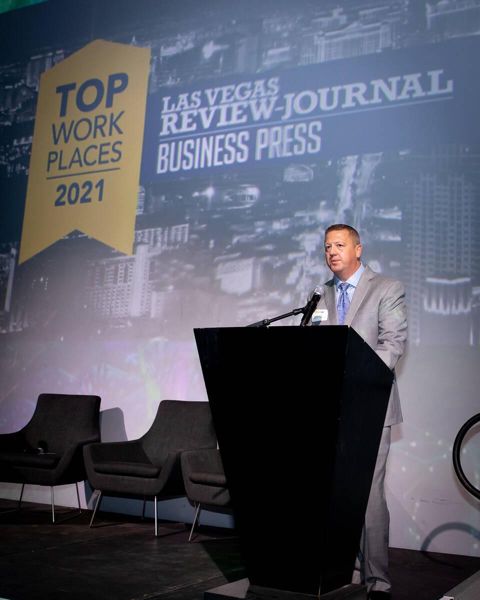 Chase Rankin, senior vice president of advertising for Las Vegas Review-Journal. (Tonya Harvey/ ...