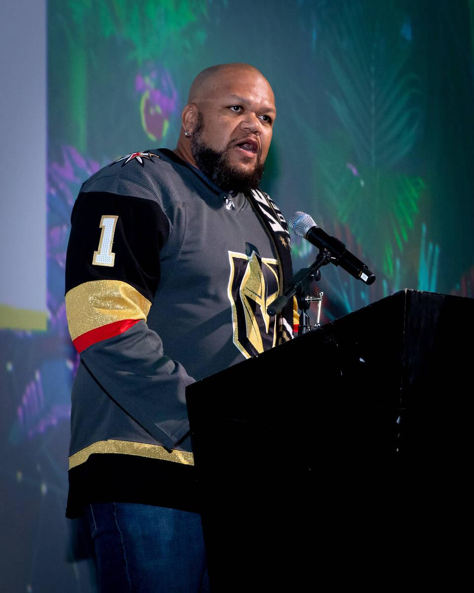 "Carnell ""Golden Pipes"" Johnson. (Tonya Harvey/Las Vegas Business Press)"