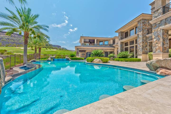 This home at 596 St. Croix St. in DragonRidge in Henderson's MacDonald Highlands has been liste ...