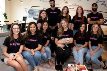 A new Las Vegas digital marketing agency, LinkGraph, won the No. 1 small company category in th ...