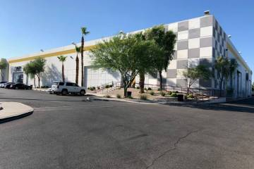 Among the purchases was a 143,000-square-foot industrial park at 7350 Prairie Falcon Road. (MCA ...